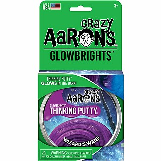 "Wizard's Wand 4"" Glow-in-the-Dark Thinking Putty"