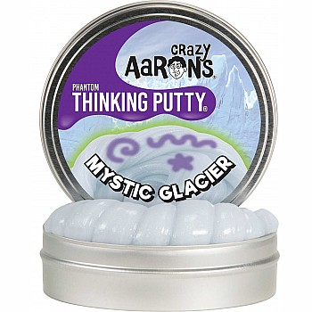 Crazy Aaron's Thinking Putty Phantom Mystic Glacier