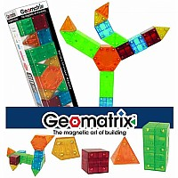 Geomatrix Magnetic Building Toy