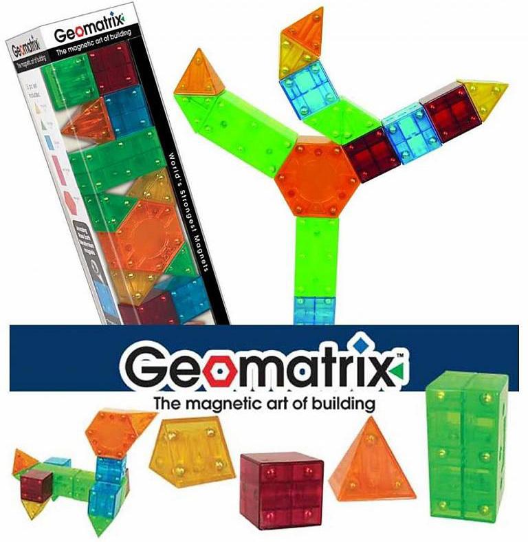 Geomatrix Toy Castle