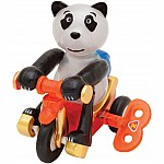 Bruno the Bike-Rider Panda