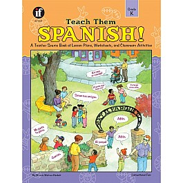 Teach Them Spanish! (K) Book