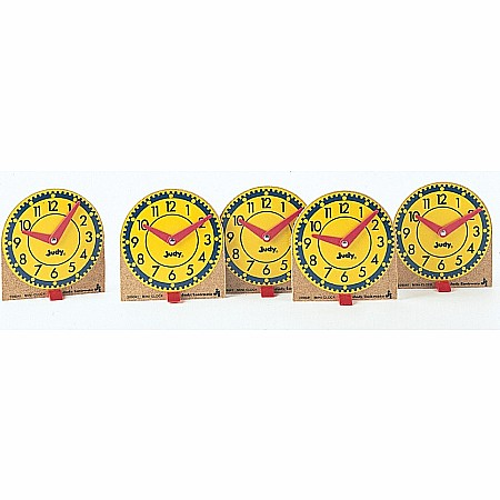 Mini Judy Clocks (Set Of 12)