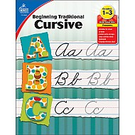 Beginning Traditional Cursive (1 - 3) Book
