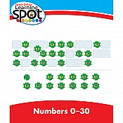 Numbers 0-30 Learning Spot Lessons, Grade K