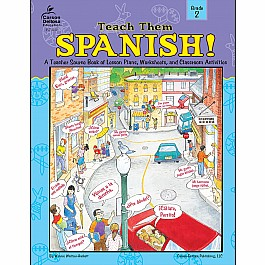 Teach Them Spanish! (2) Book
