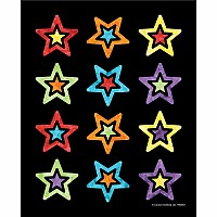 Celebrate Learning Stars Shape Stickers