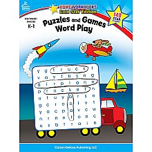 Puzzles and Games: Word Play, Grades K-1