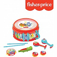 Fisher-Price Rainforest Musical Band Drum Set 9-Piece