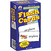 Basic Picture Words Flashcards