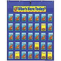 Attendance / Multi-use Pocket Chart