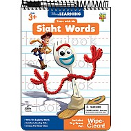 Trace With Me: Toy Story 4 Sight Words Activity Pad