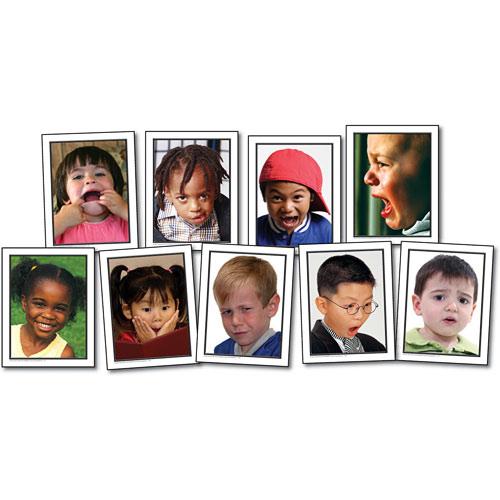 facial expression cards