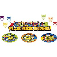 Super Power Heroic Students