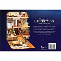 Entertaining with Caspari Christmas Pop-Up Advent Calendar and Story Book, Night Before Christmas, 1-Count
