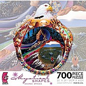 700 Piece Mystical Shapes: Sacred Spaces  Medicine Wheel