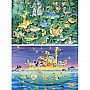 48 Piece Floor Puzzle Moskowitz's Animal Adventure