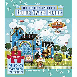 300 Piece Oversized Roger Nannini - Home Sweet Home