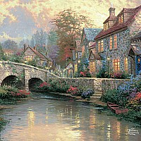550 Piece Thomas Kinkade