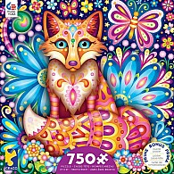 750 pc Groovy Animals - Fox Puzzle