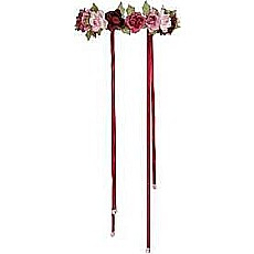 Garland Rose HALO (dark Pink, Adjustable)