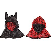 Rev. Spider Bat Hood (red Black, OS