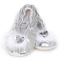 Princess Slippers (silver, MD)