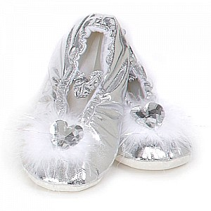 Princess Slippers (silver, MD