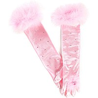 Princess Gloves, Pink