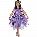 Forest Fairy Tunic, Lilac,  Size 5-6