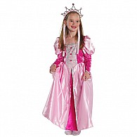 Medieval Queen Gown (dark Pink, MD