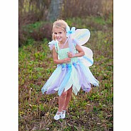Butterfly Dress with Wings and Wand