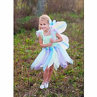 Buttterfly Dress, Wings Wand (green, MD