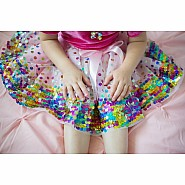 Pink Party Fun Sequin Skirt