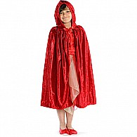 Little Red Riding Hood Cape (red, MD
