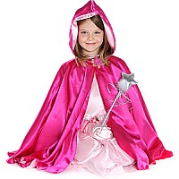 Reversible Hooded Princess Cape, Md
