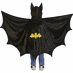 Bat Cape With Hood (black, MD