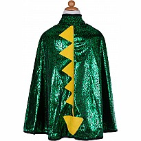 Rev. Dragon Knight Cape (green Silver, SM