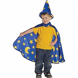 Adventure Wizard Set (cape Hat Blue, SM