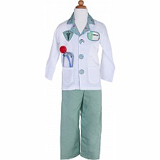Green Doctor with Accessories in Garment Bag Size 5-6