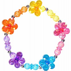 Flower Rainbow Power Bracelet