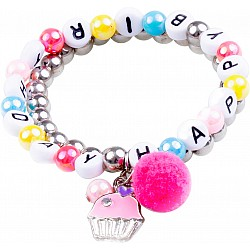 Happy Birthday Bracelet (2 pcs)