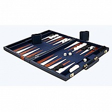 Deluxe Backgammon Game with Attache Case, 18""