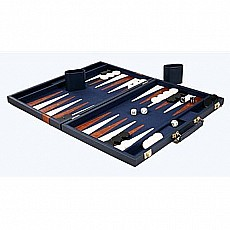 Deluxe Backgammon Game with Attache Case, 18
