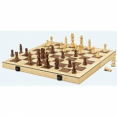 Folding Wood Chess Set 16