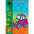 Buki Color by Numbers 24 Pages Activity Book for Ages 6+