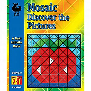 Buki Activity Book - Mosaic Discover The Pictures