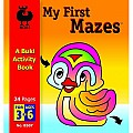 Buki My First Mazes Activity Book, Small