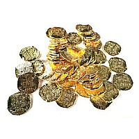 Pirate Coin - Large Gold Individual
