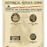 Coins California Gold Rush